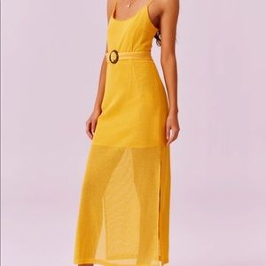 Finders Keepers Mango Coconut Maxi Dress